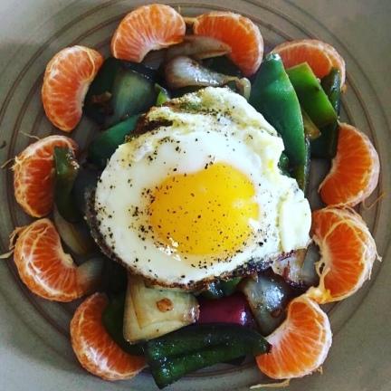 Aunts Leftovers Breakfast Egg