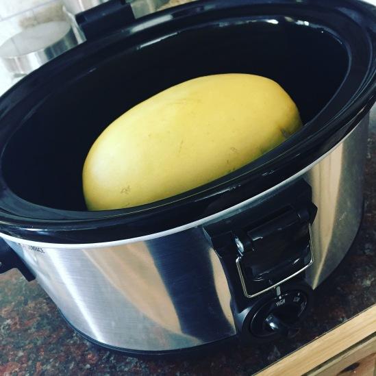 Cooking Spaghetti Squash in a Crockpot